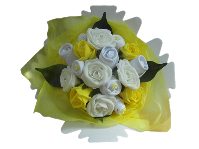 Baby Lemon Baby Clothes Bouquet Baby Bunch